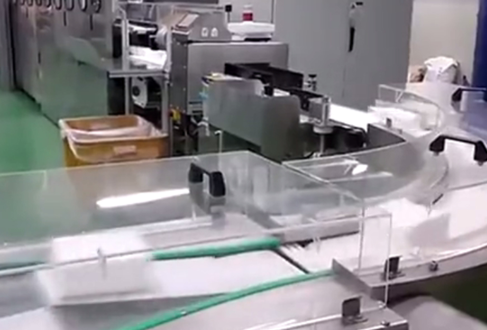 Wet wipes production workshop