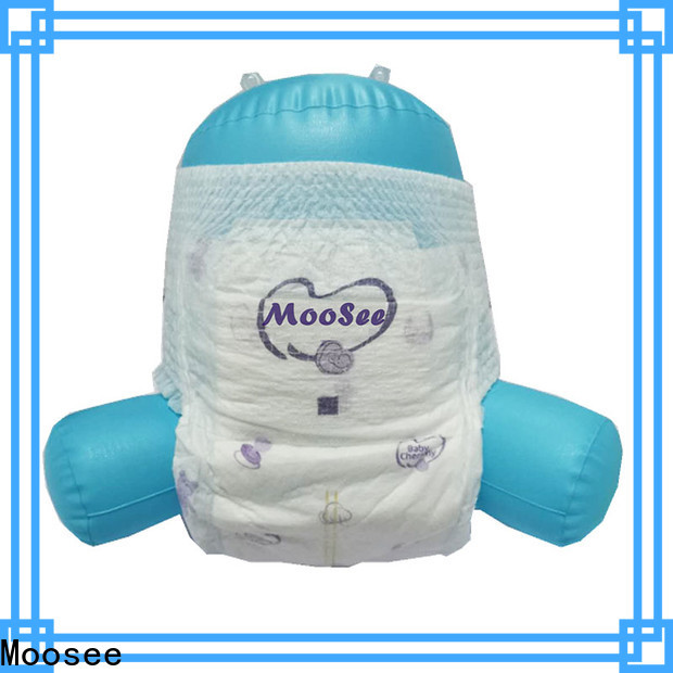 Moosee material baby pull up diapers for children