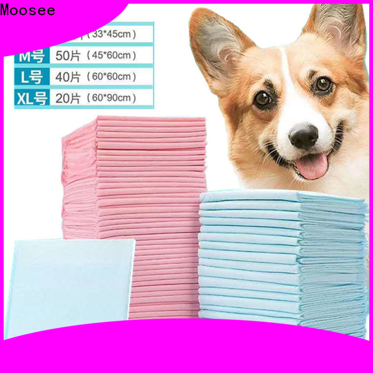 Moosee jxpp1002 puppy training pad company for puppy