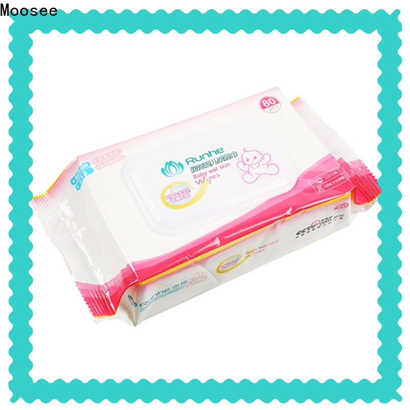 High-quality bulk wet wipes nonwoven company for baby