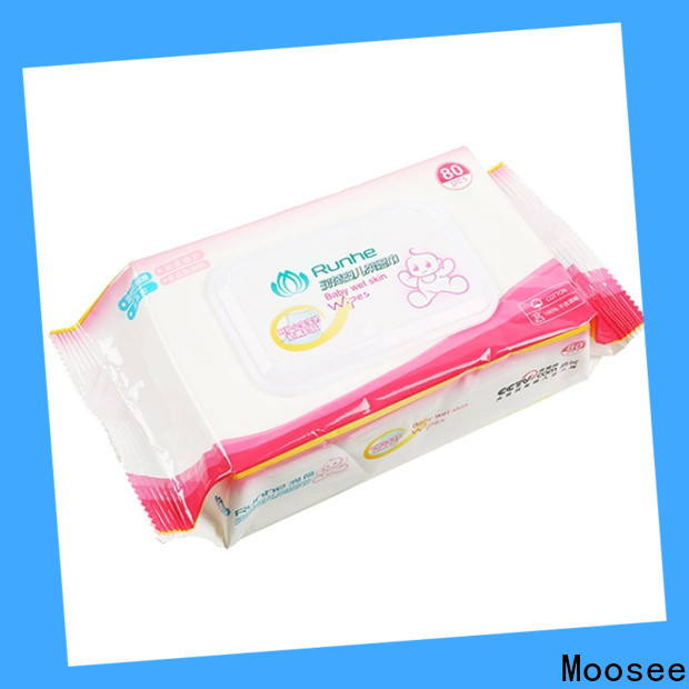 Moosee jxbw1001 custom wet wipes for children