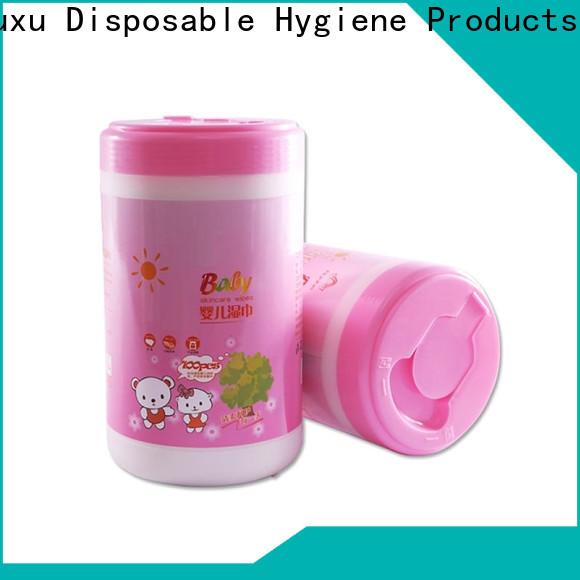 Wholesale wet tissue cotton for children