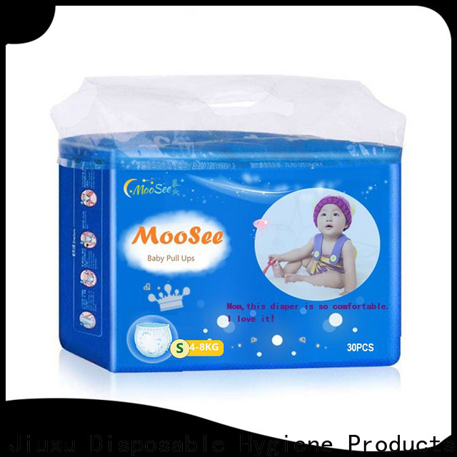 Moosee breathable baby diaper pull ups Supply for baby