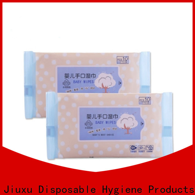 High-quality wet tissue jxbw1004 manufacturers for baby