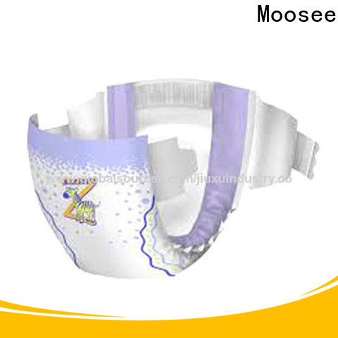 Moosee High-quality disposable baby diapers factory for infant