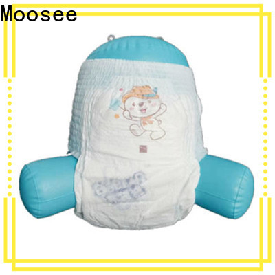 Moosee materials baby pull up diapers Supply for baby