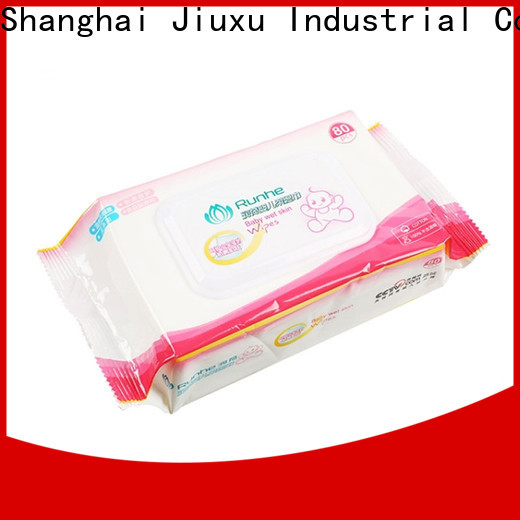 Moosee baby cotton wet wipes for business for children