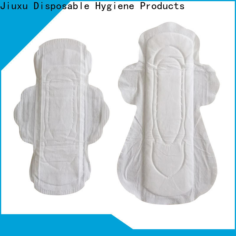 Custom sanitary towel napkins manufacturers for lady