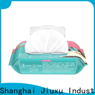 High-quality wet tissue wipes jxbw1004 factory for sale