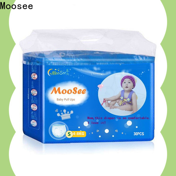 Moosee Wholesale baby diaper pull ups manufacturers for infant