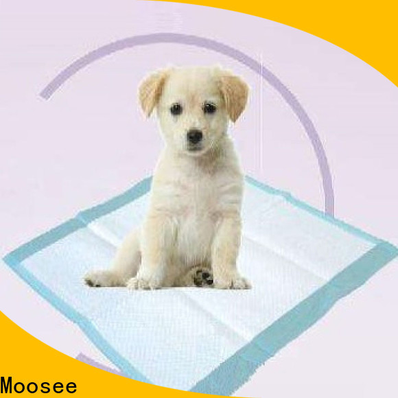 Moosee nonwoven pet pads Suppliers for puppy