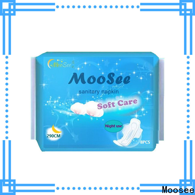 Moosee surface wholesale sanitary pads for business for lady