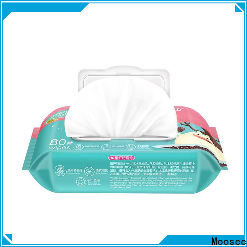 Moosee Wholesale wet wipes manufacturer manufacturers for children