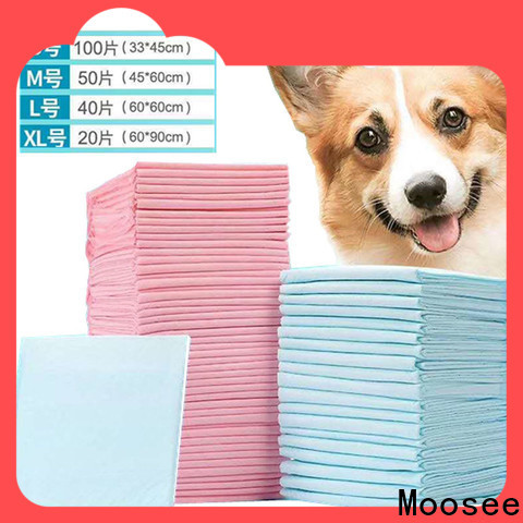 Moosee Latest disposable puppy pads Suppliers for puppy