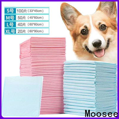 Moosee disposable puppy pads manufacturer