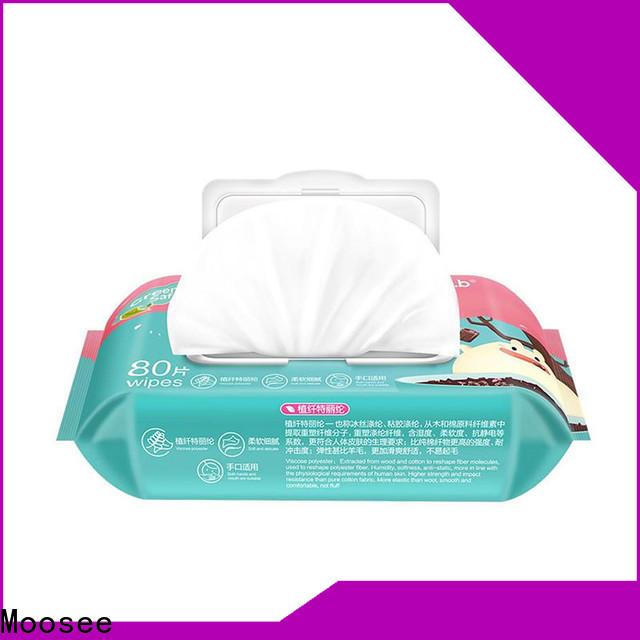 Moosee organic baby wipes company